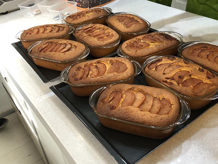[락앤락 원데이클래스] 10월 착한 홈베이킹 #오븐글라스 로 만드는 <애플파운드케이크> 참여 후기