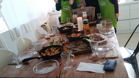 [락앤락 원데이 쿠킹클래스]락앤락으로 만드는 우리집 연말식탁 2편 스페인 푸드편(닭고기 빠에야,그릴무늬 오징어 샐러드,샹그리아)- 2016년 12월 27일(화)