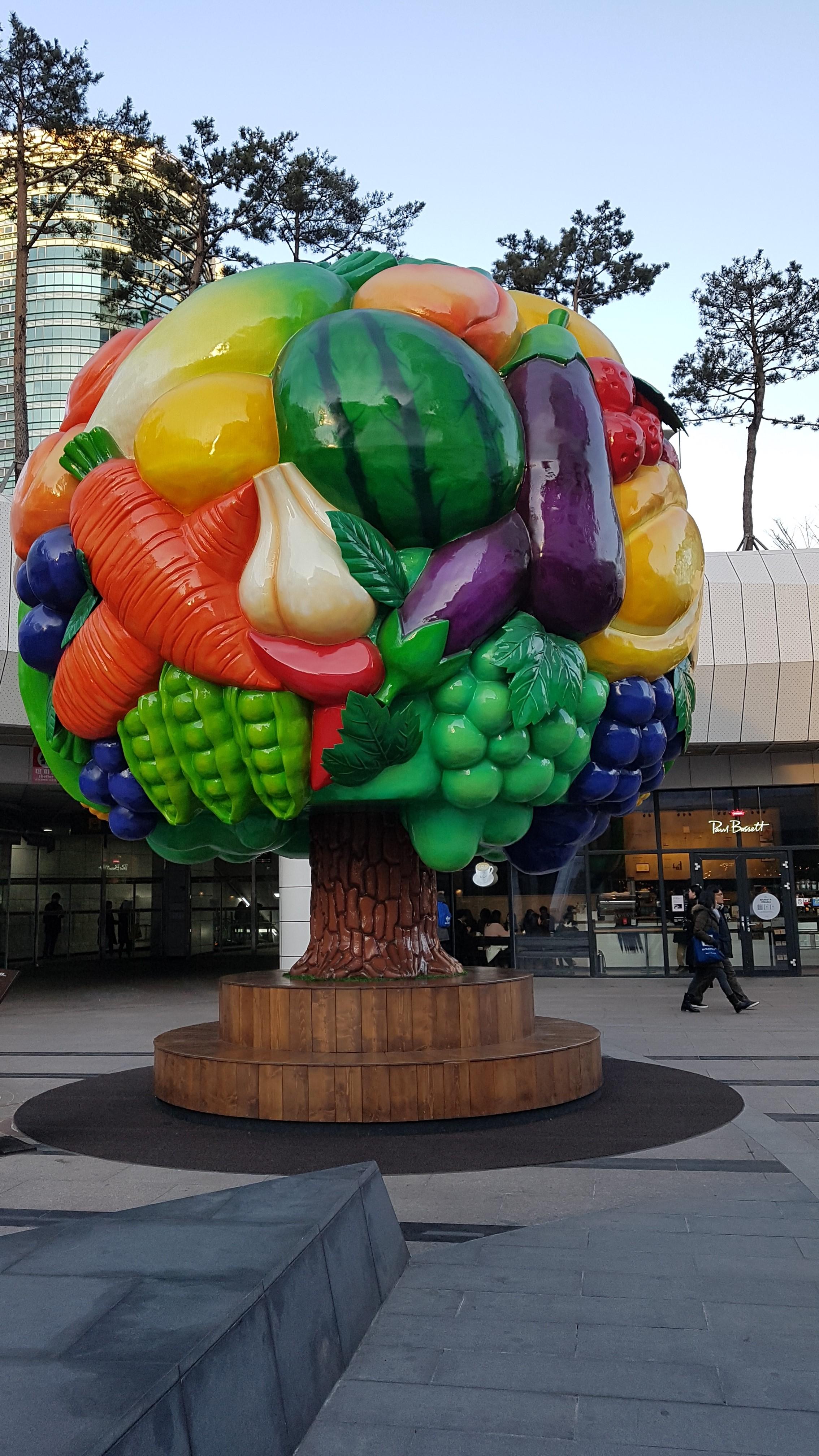 과일나무의자