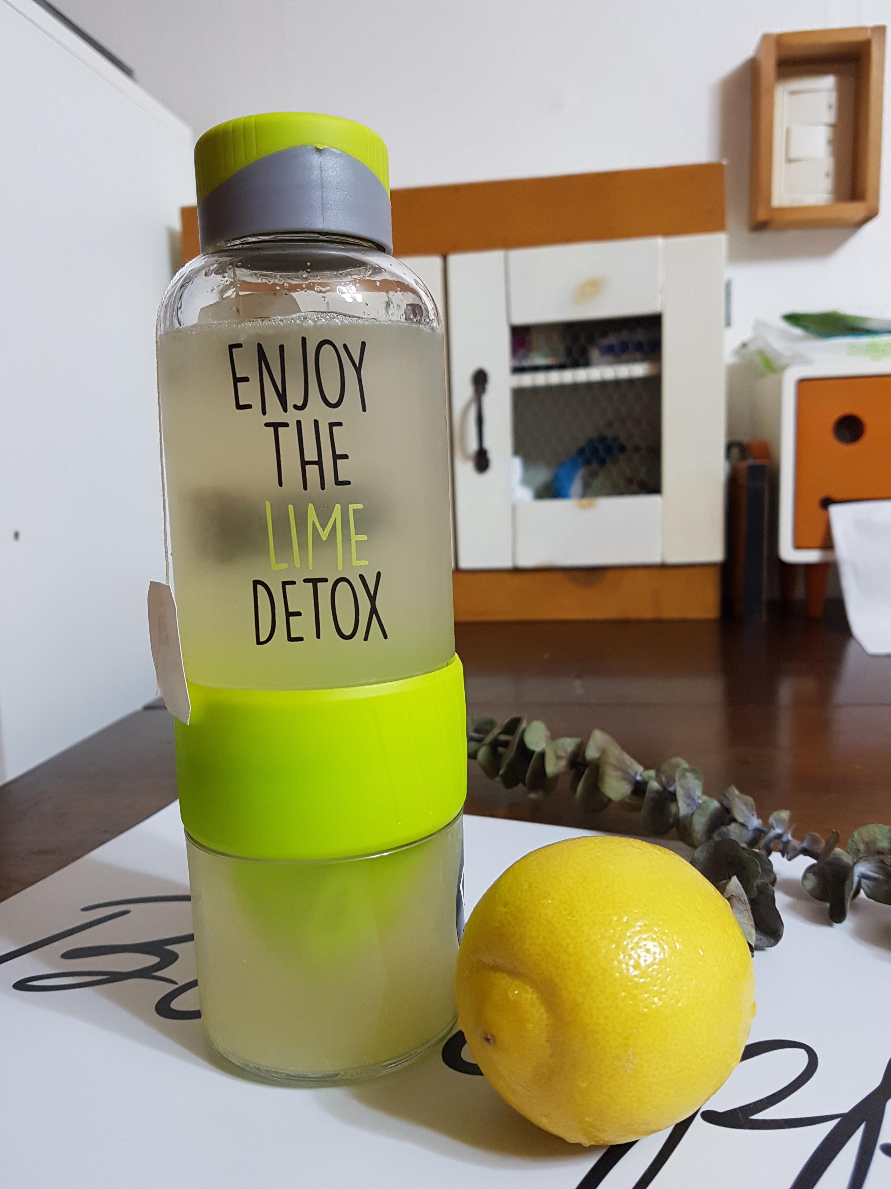 락앤락 써포터즈 - 레몬녹차 디톡스