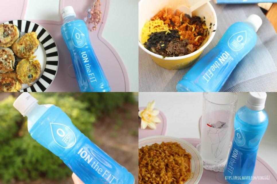 수분보충 이온음료추천 / 웅진식품 이온더핏