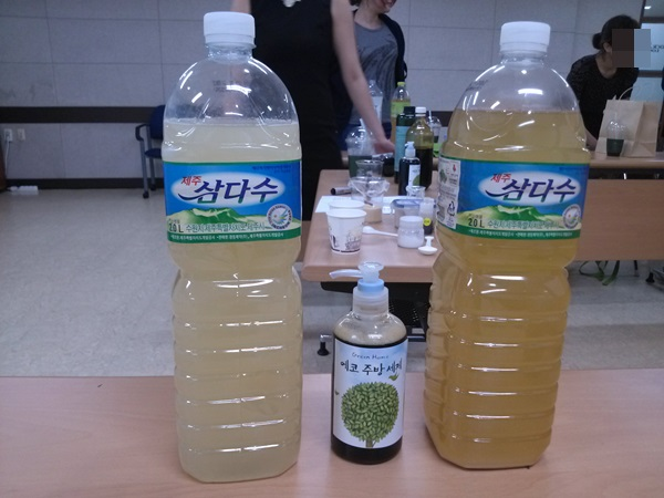 8월 에코라이프 클래스 - EM쌀뜨물 발효액과 주방세제 만들기
