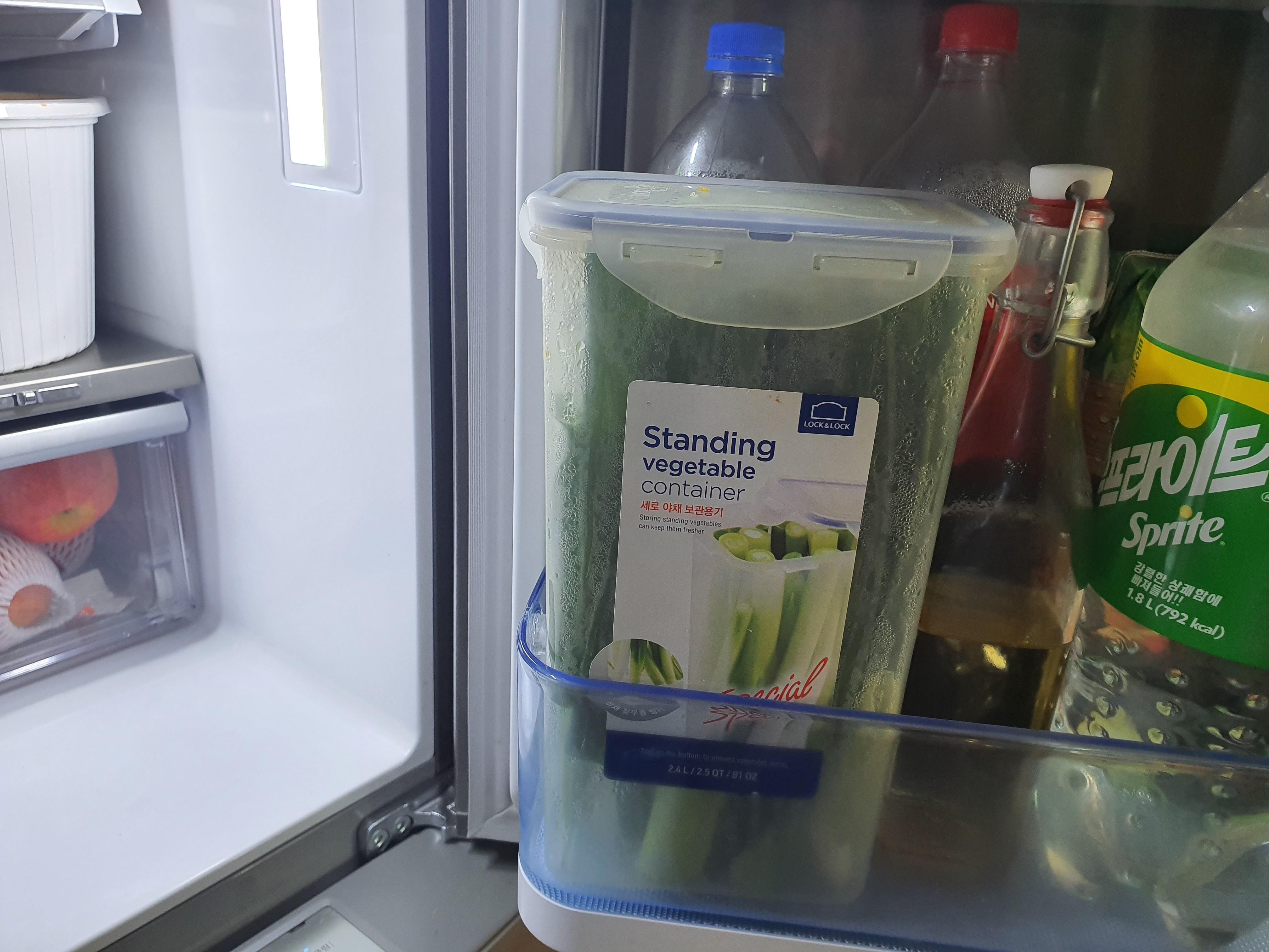 울집 냉장고에서 3년째 살고 있는 락앤락파통