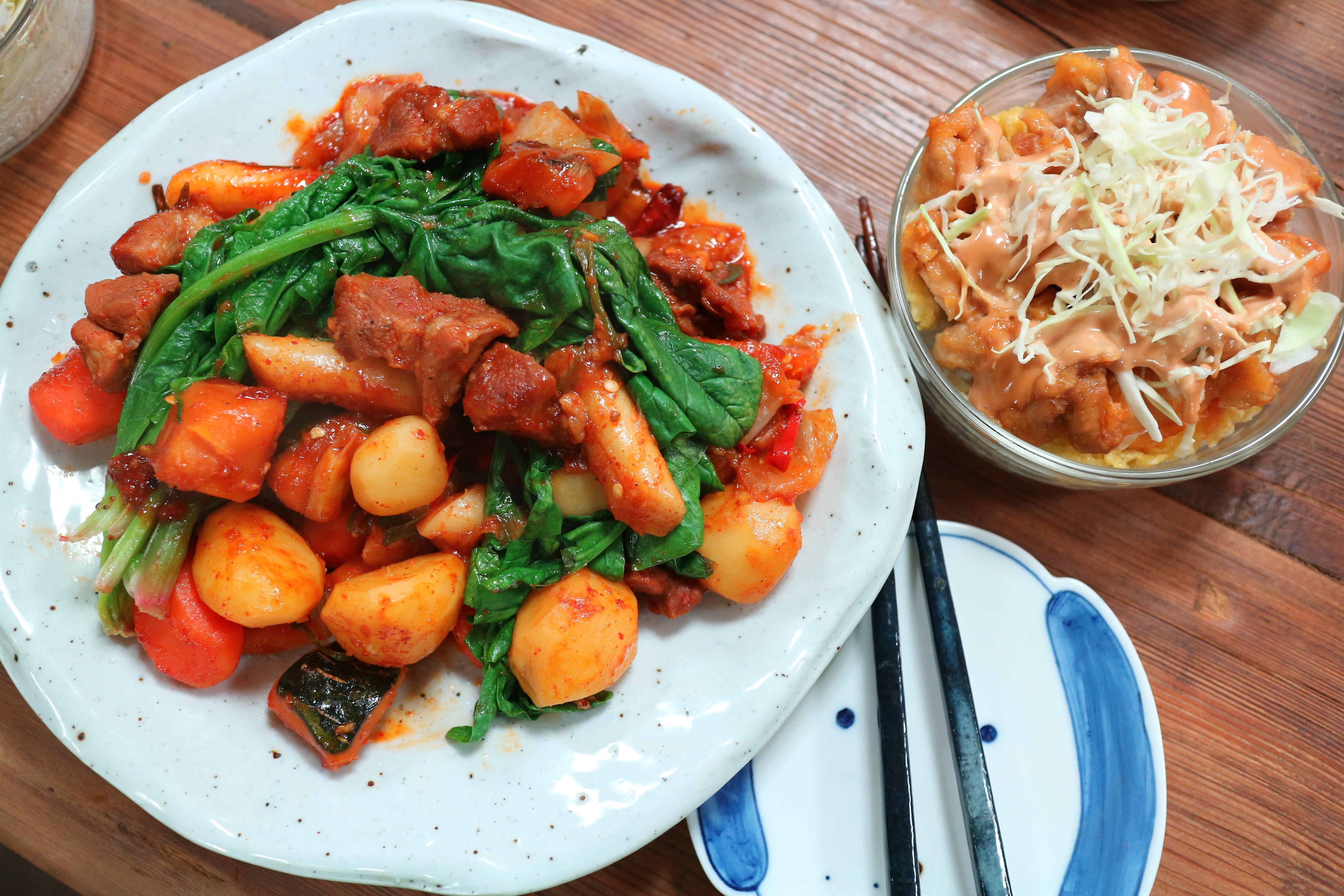 락앤락 원데이쿠킹클래스 후기 - 초간단 든든 저녁집밥 치킨마요덮밥 & 돼지목살찜