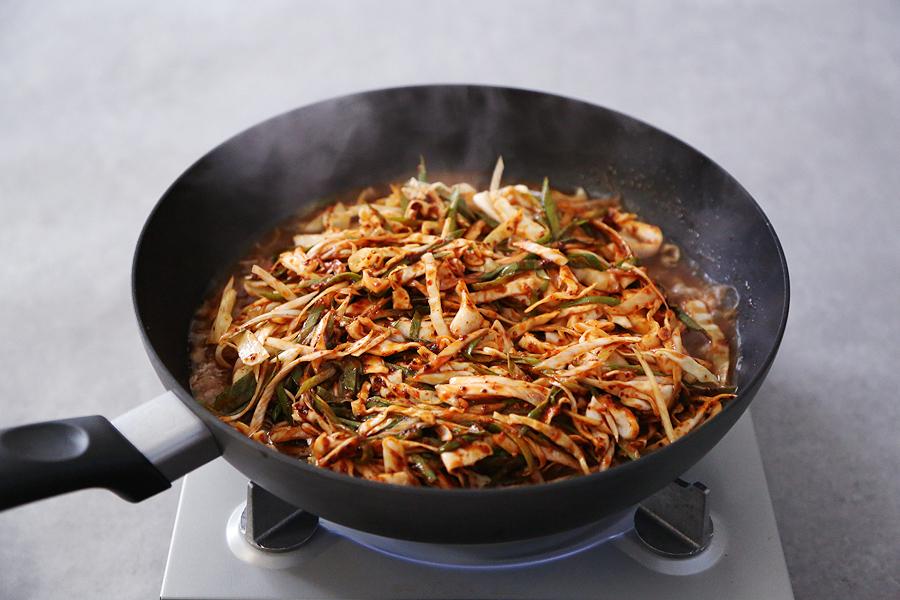 백종원 대패두루치기, 락앤락 하드앤라이트 프라이팬으로 더 맛있게!