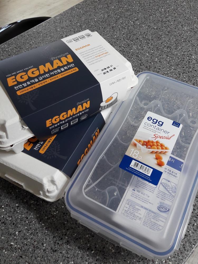 락앤락 계란보관용기 & 포프리 에그맨 프리미엄