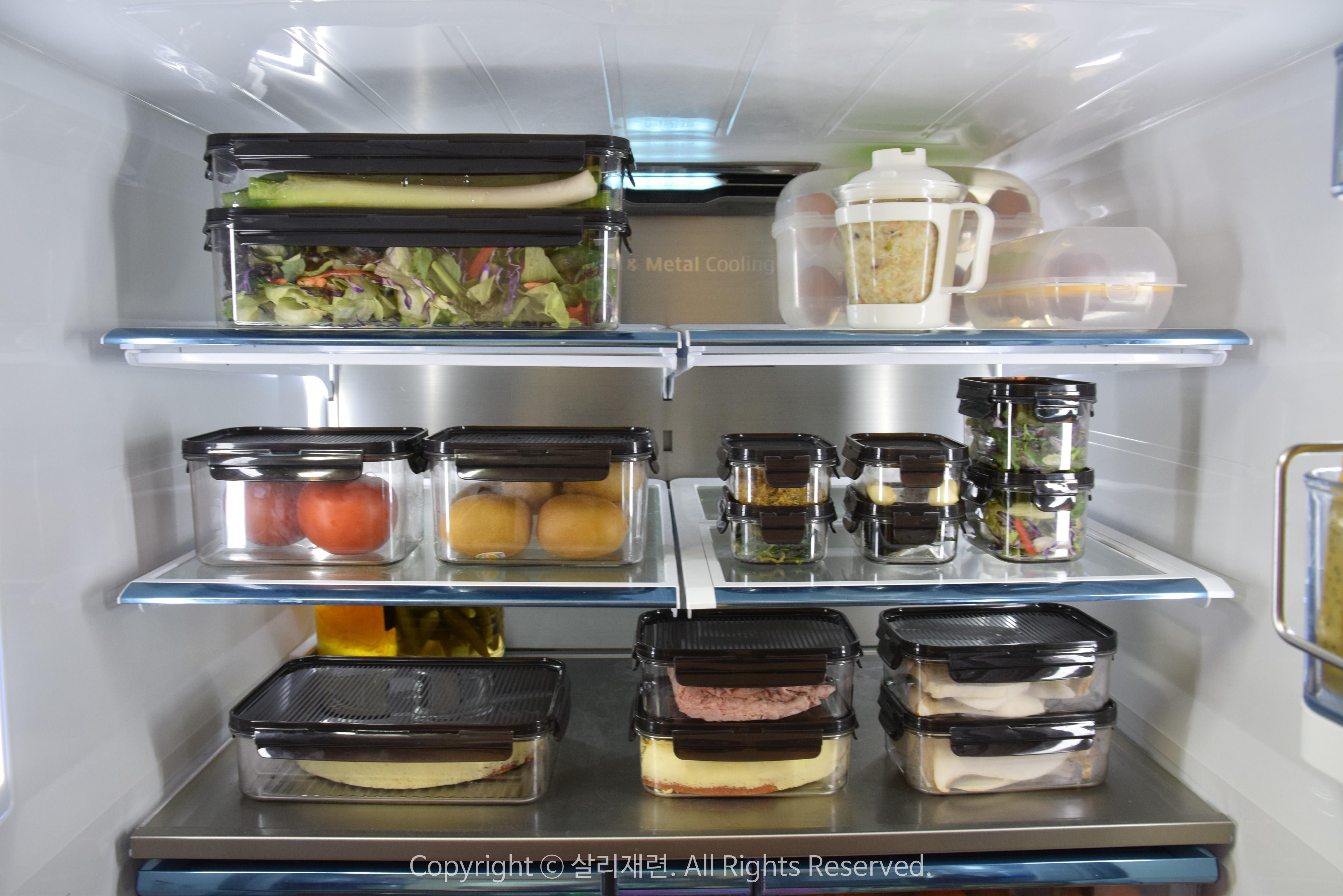 냉장고정리용기 비스프리모듈러로 깔끔하게 정리해요
