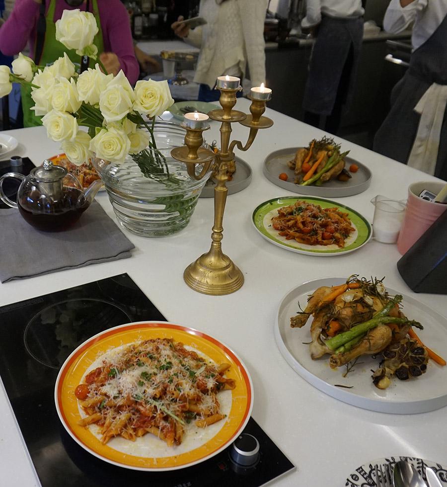 [락앤락 쿠킹클래스] 세계 집밥 만들기 / 로스트치킨, 펜네파스타, 석류 젤리 케이크