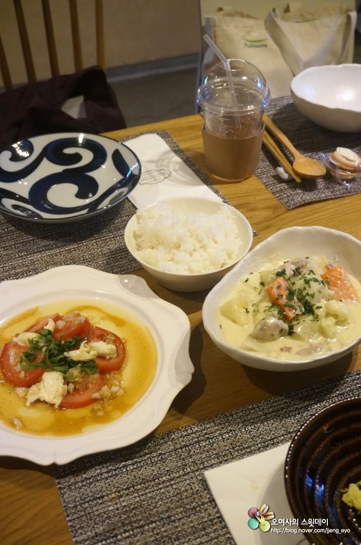 락앤락 세계집밥 쿠킹 클래스 :: 쿠킹앤모어에서 배운 일본가정식~