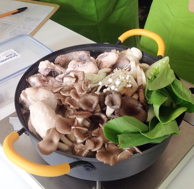[오프라인클래스후기]11월 락앤락 원데이쿠킹클래스-닭한마리st 버섯닭전골&양념치킨덮밥