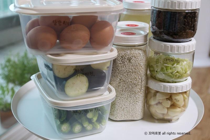 락앤락써포터즈 냉장고정리 락앤락X 모나미 냉장고 정리 솔루션에 맡겨보세요