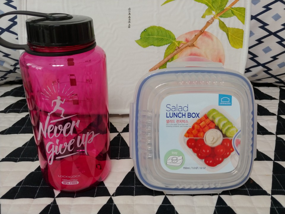 락앤락과 웅진식품이 함께 한 건강 다이어트 패키지 체험 후기에요