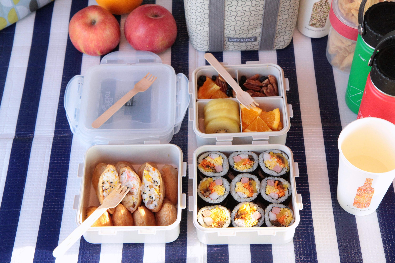 김밥 맛있게 싸는법 락앤락 나들이도시락