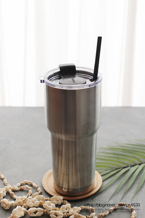 아이스아메리카노 & 맥주컵으로 사용해 본 락앤락 스윙텀블러 할인~ 스텐의 깔끔함!