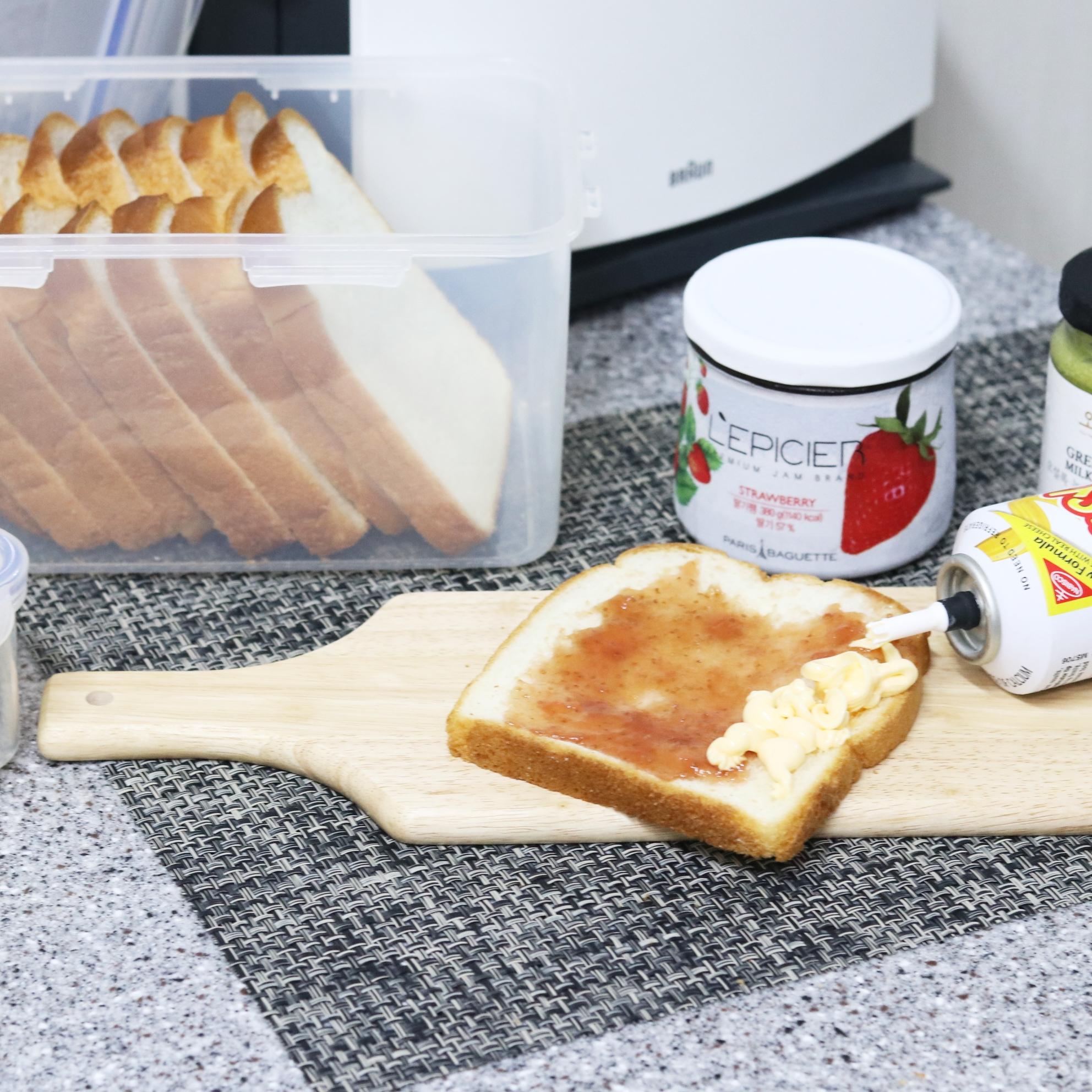 식빵을 더 맛있고, 신선하게- 락앤락 식빵보관용기 good!