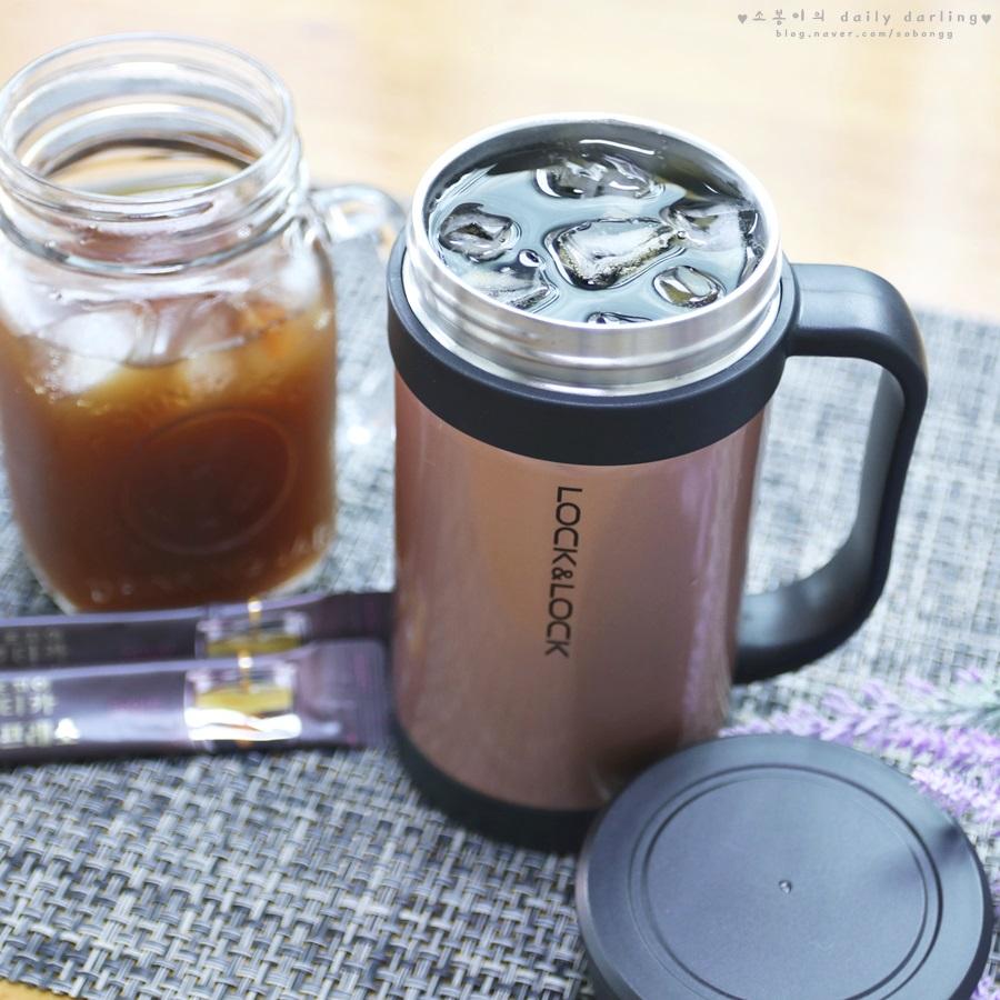 락앤락 커피머그와 아이스트레이로 즐기는 홈카페