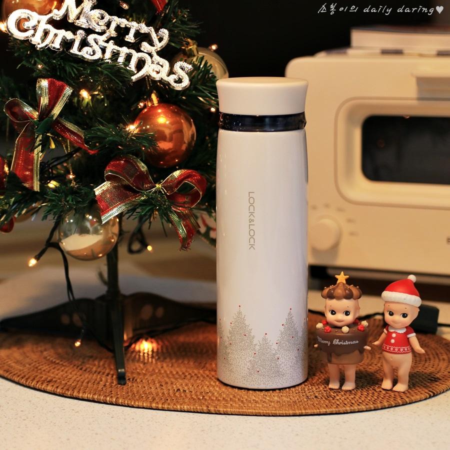 따뜻한 크리스마스 선물 락앤락 패더라이트 링텀블러