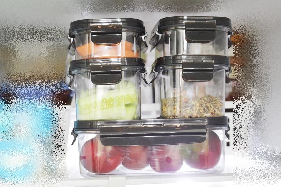 쉬운 냉장고정리방법 락앤락 비스프리모듈러