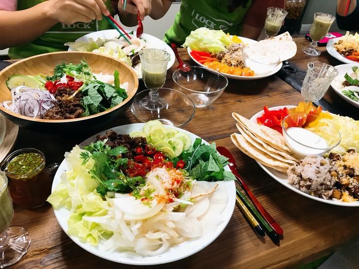 락앤락 원데이 쿠킹클래스 - 저녁집밥 (720kcal 다이어터 식단만들기)