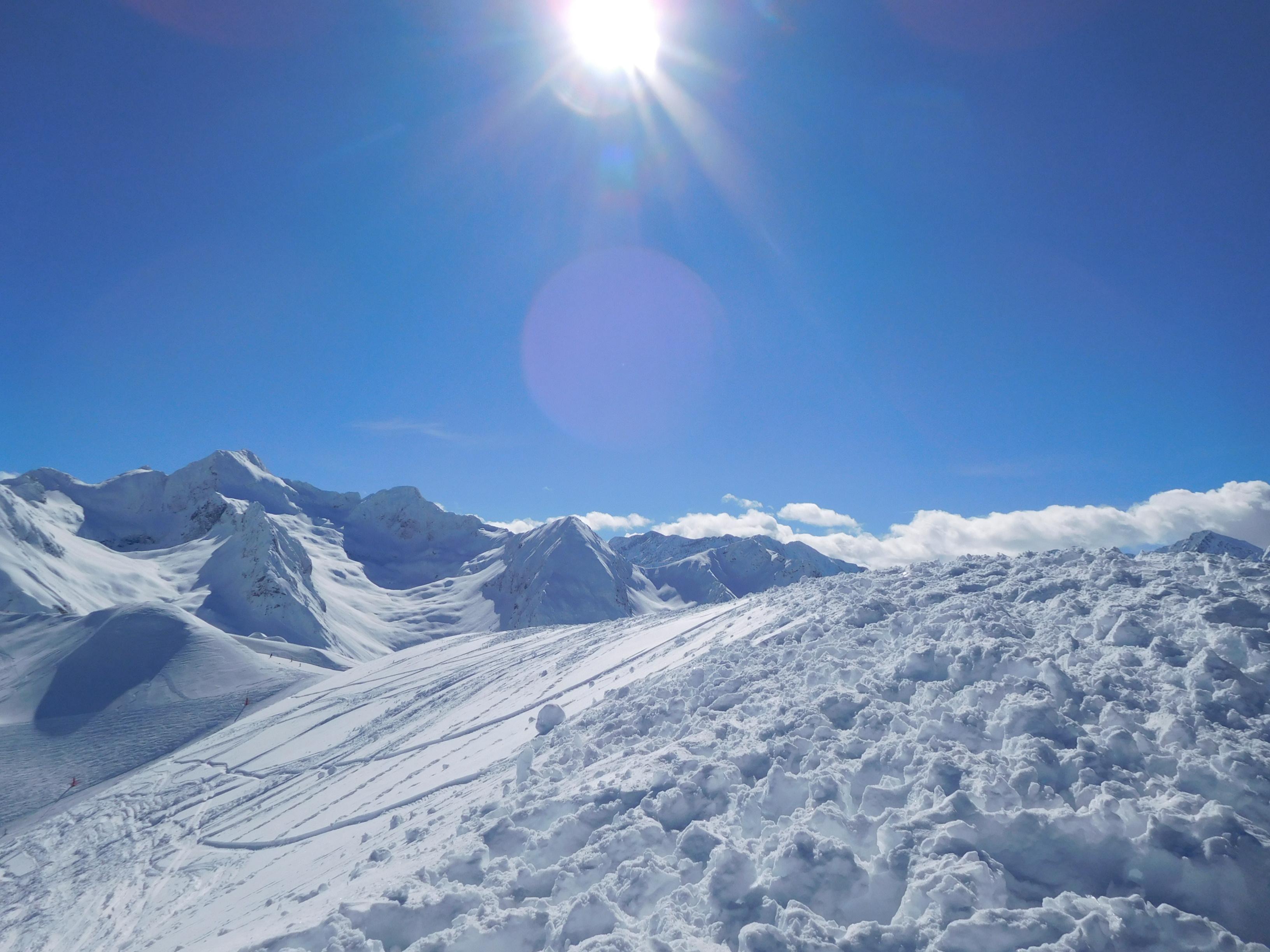 스키 타기 좋은날~