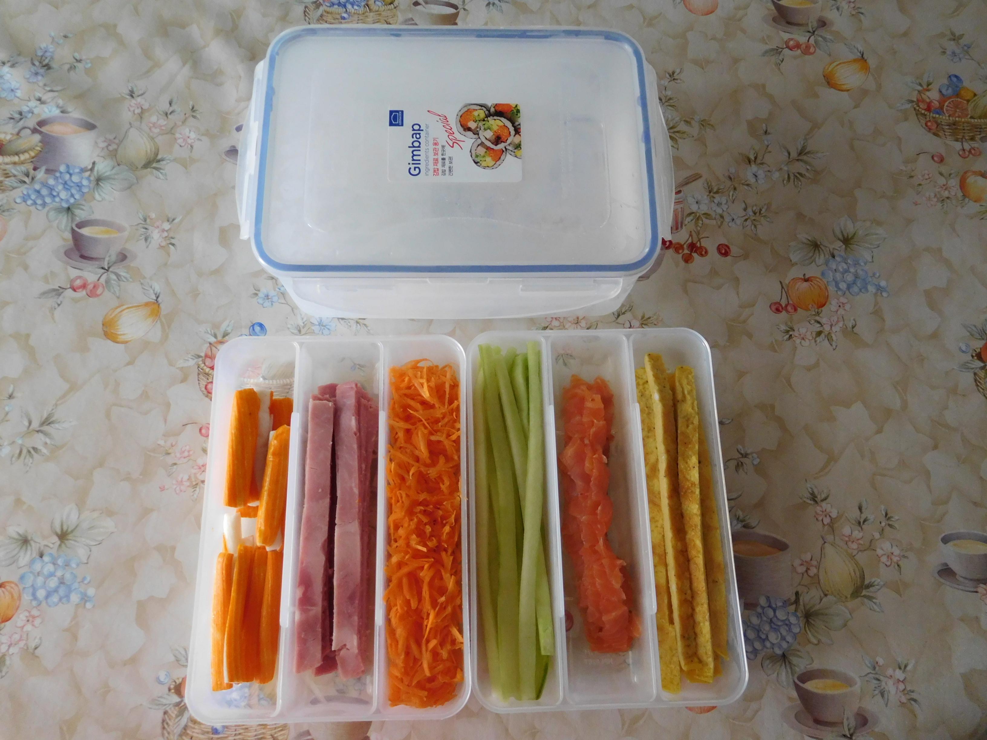1주일동안 4번의 김밥