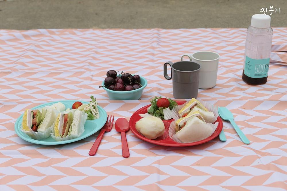피크닉식기세트 여름 나들이 갈때 챙기자!