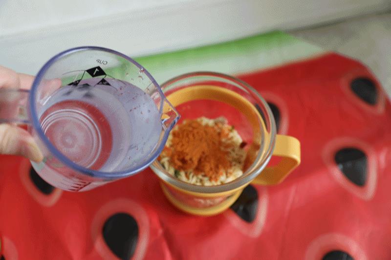 간편식 전용용기 간편식글라스로 컵라면 후루룩~