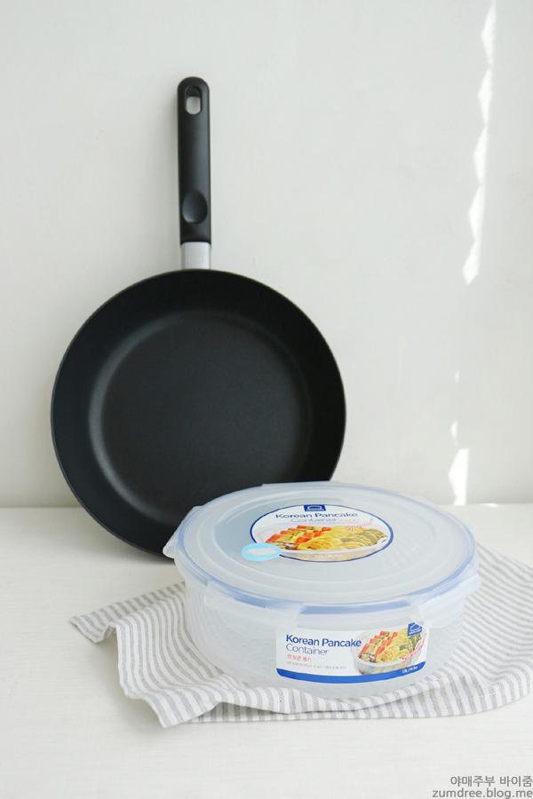 추석명절음식 호박전 만들기 W. 백종원 프라이팬